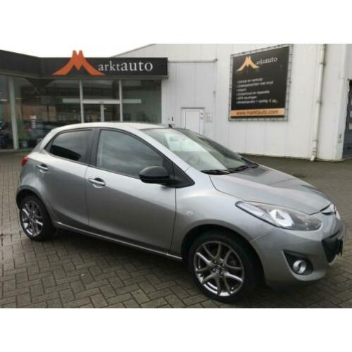 Mazda 2 1.3 Silver Edition Navi Bluetooth Climate Parkeersen