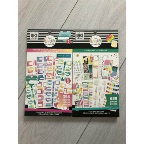 Stickerboeken happy planner