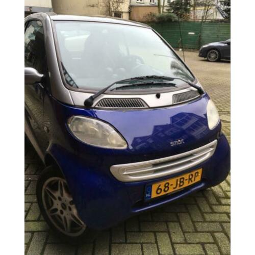 Smart fortwo & passion 60pk -Airco 2002 Grijs