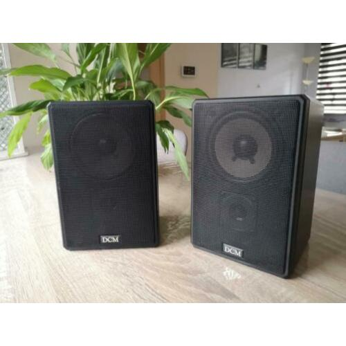 DCM CX-007 bookshelf speakers