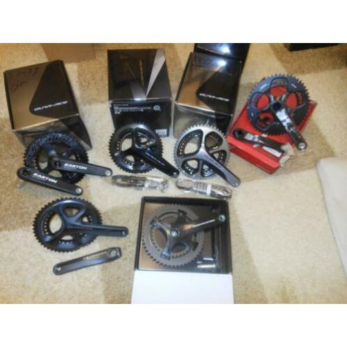 ultegra dura ace sram red campagnolo crankstel rem shifters