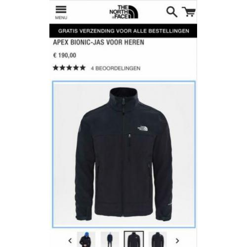 The North Face Apex Bionic jas Maat M