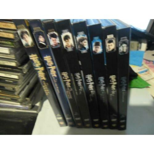 Harry potter 8 dvd's zie foto's