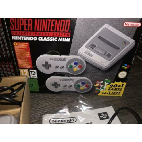 Super nintendo mini met meer dan 140 games extra Mini snes