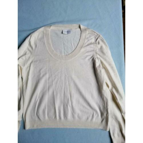Liz Claiborne L Cream jumper, silk, cashmere blend